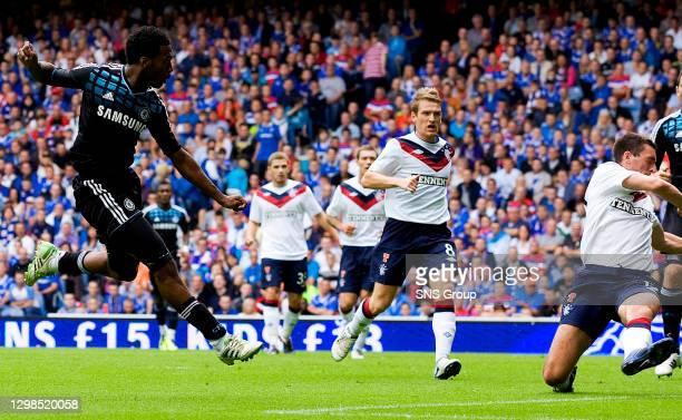Daniel Sturridge fires the ball home to equalise for Chelsea