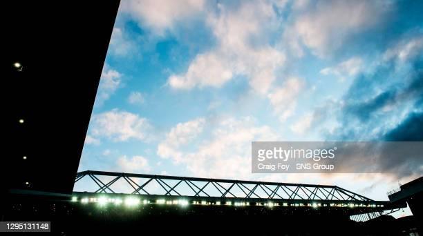 Ibrox, home of Rangers FC