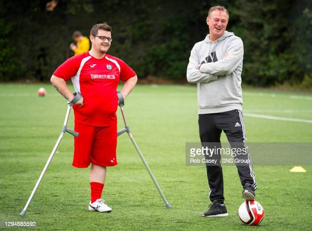 Northern Ireland manager Michael O'Neill will puts Scotland's only amputee football team through its paces as he steps in as guest coach for...