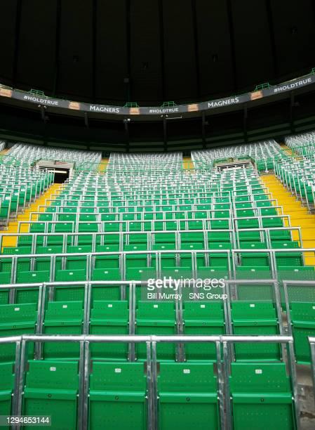 Safe standing at Celtic Park