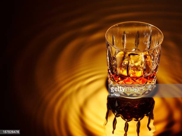 glass and whiskey - rum stock pictures, royalty-free photos & images