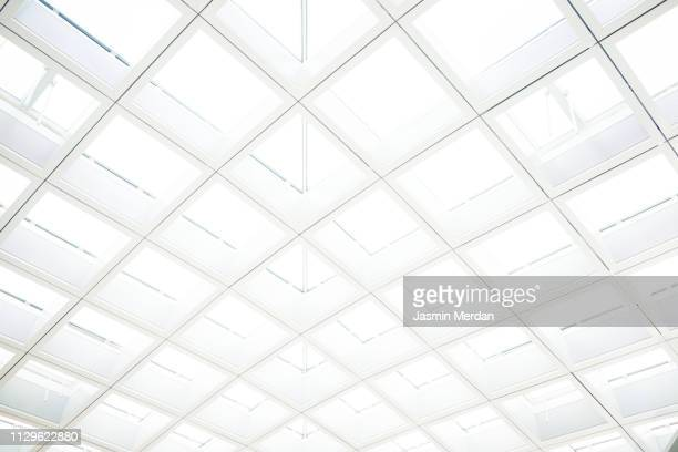 glass background of venice airport - bokeh museum stock photos and pictures
