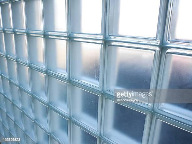 glass blocks wall - Glasbausteine Wand
