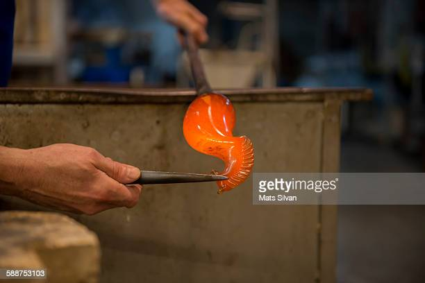 glass blower - murano stock pictures, royalty-free photos & images