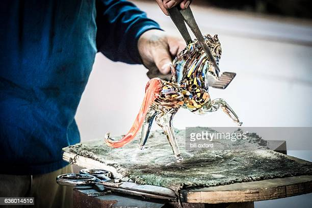 Glass Blowing Factory-Horse