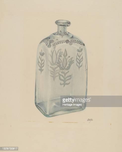 Glass Bottle, 1935/1942. Artist Beverly Chichester.