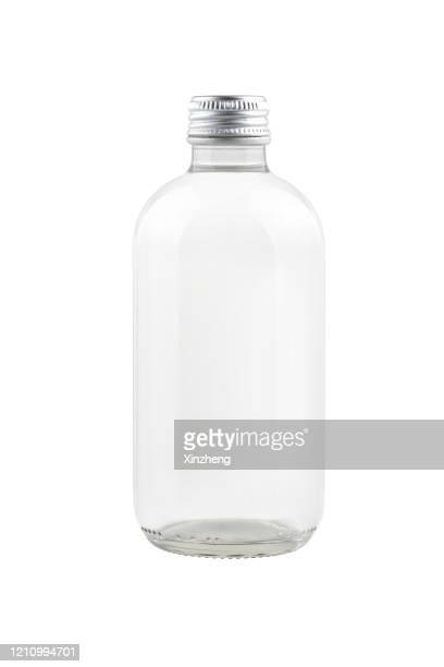 glass bottle of water - 蓋 ストックフォトと画像
