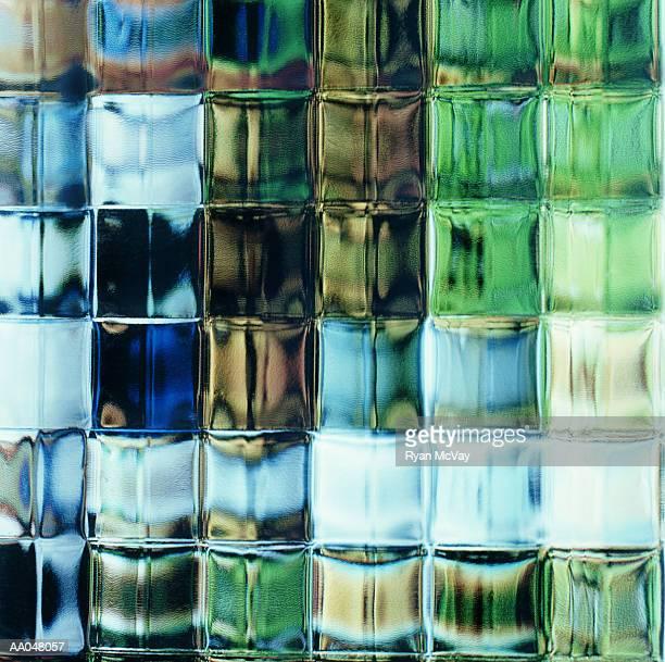 Glass bricks, full frame