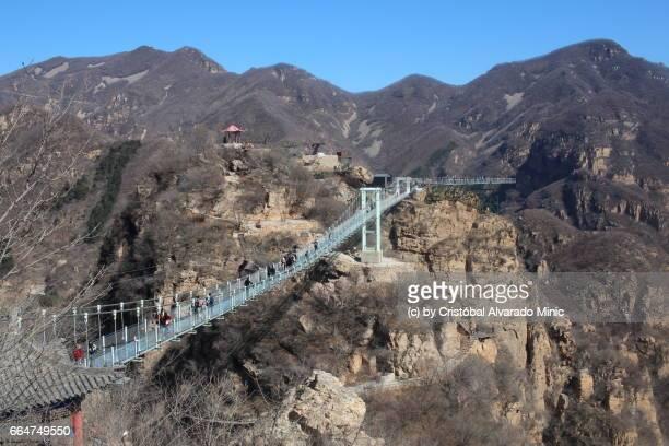 Glass Bridge In Tianyun Mountain Scenic Spot