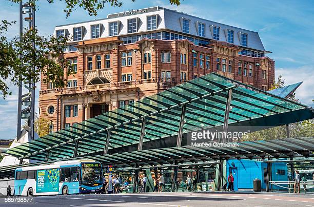 Glass bus terminal Railway Square