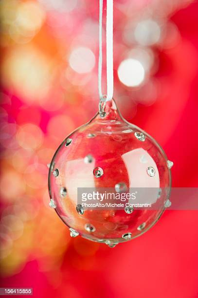 Glass Christmas bauble