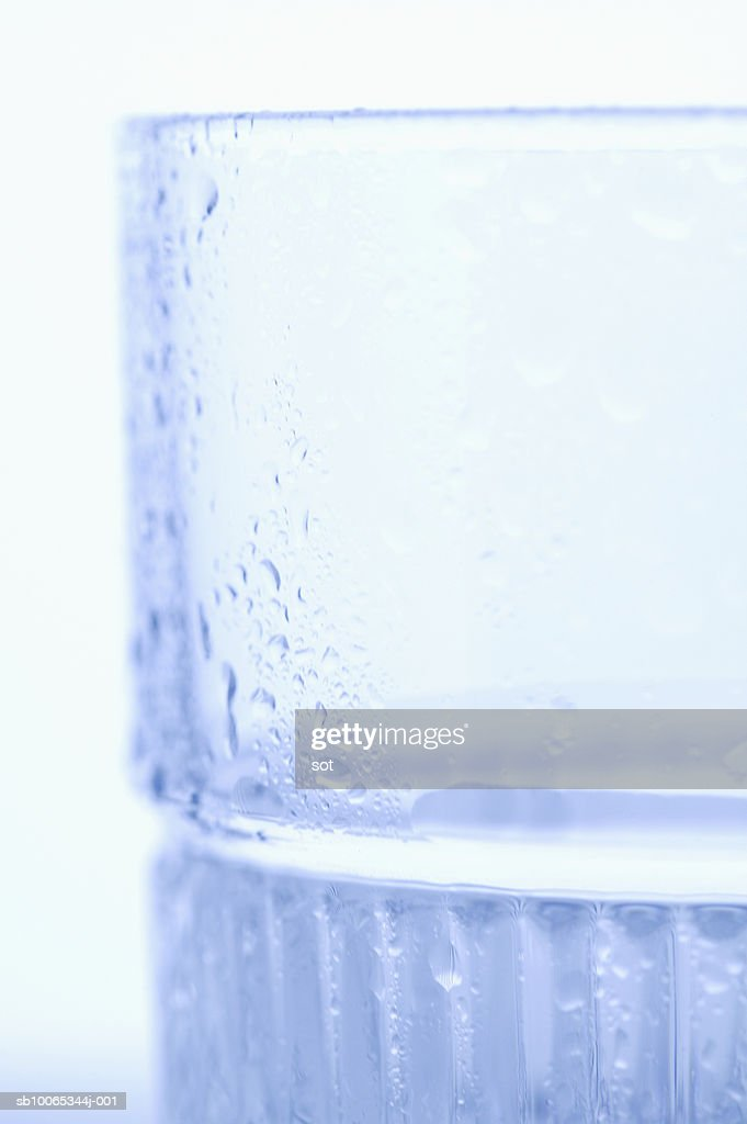 Glass, close-up : Foto stock