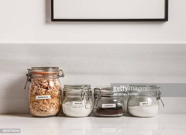 glass containers - label stock pictures, royalty-free photos & images