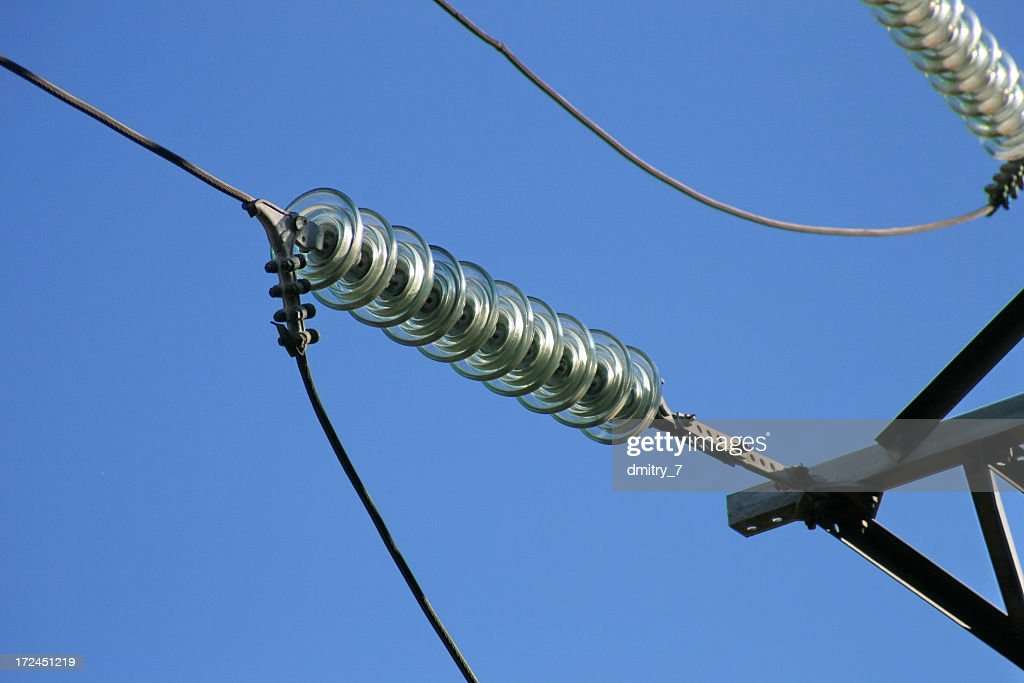 Glass Electrical Insulator Stock Photo - Getty Images