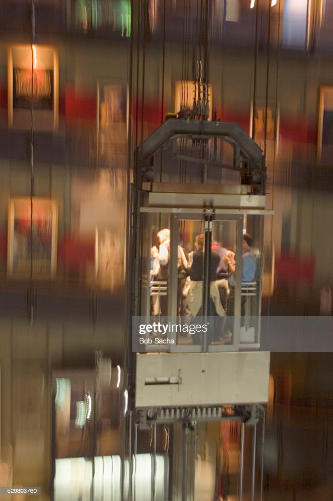 Museo Del Cinema.Glass Elevator In Museo Nationale Del Cinema Stock Photo Getty Images
