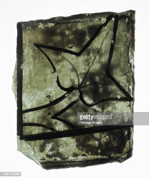 Glass Fragment, French or British, early 14th century. Artist Unknown.