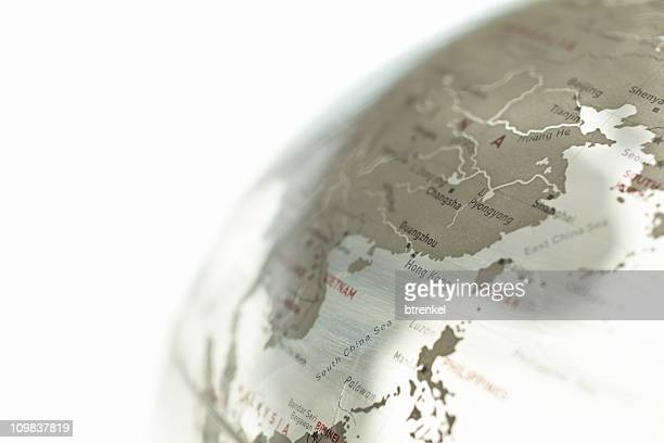 Glass globe - China