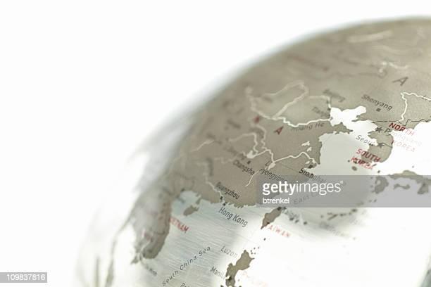 Glass globe - China/Korea