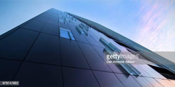 Glass high building, Bucharest, Romania