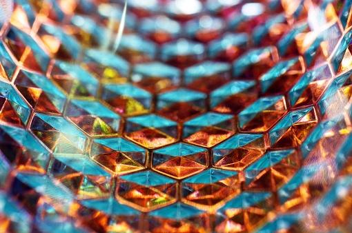 Glass Honeycomb Tunnel - gettyimageskorea