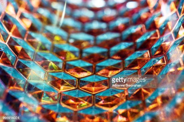 Glass Honeycomb Tunnel