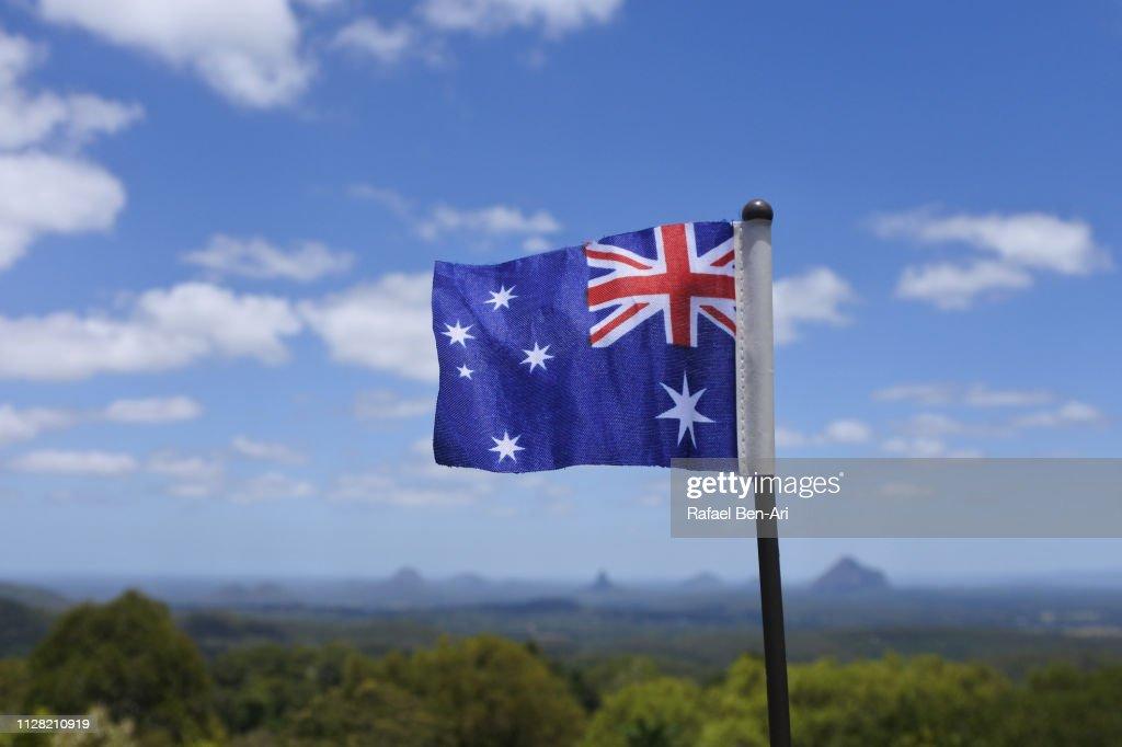 Glass House Mountains in the Sunshine Coast, Australia : Stock Photo