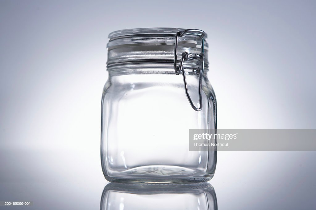 Glass jar : Stock Photo