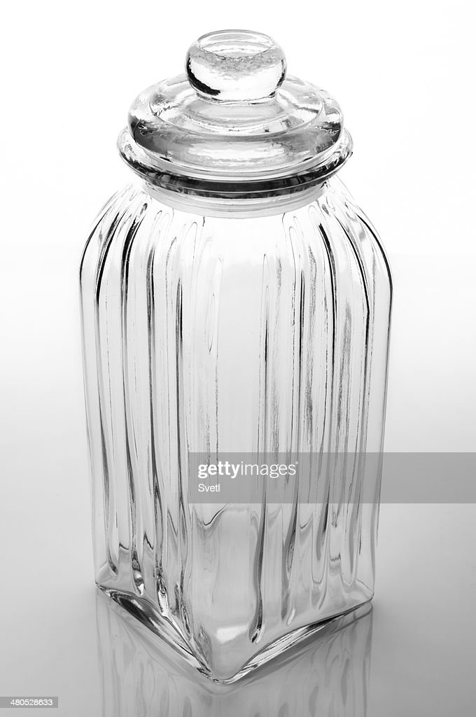 Glass jar : Bildbanksbilder