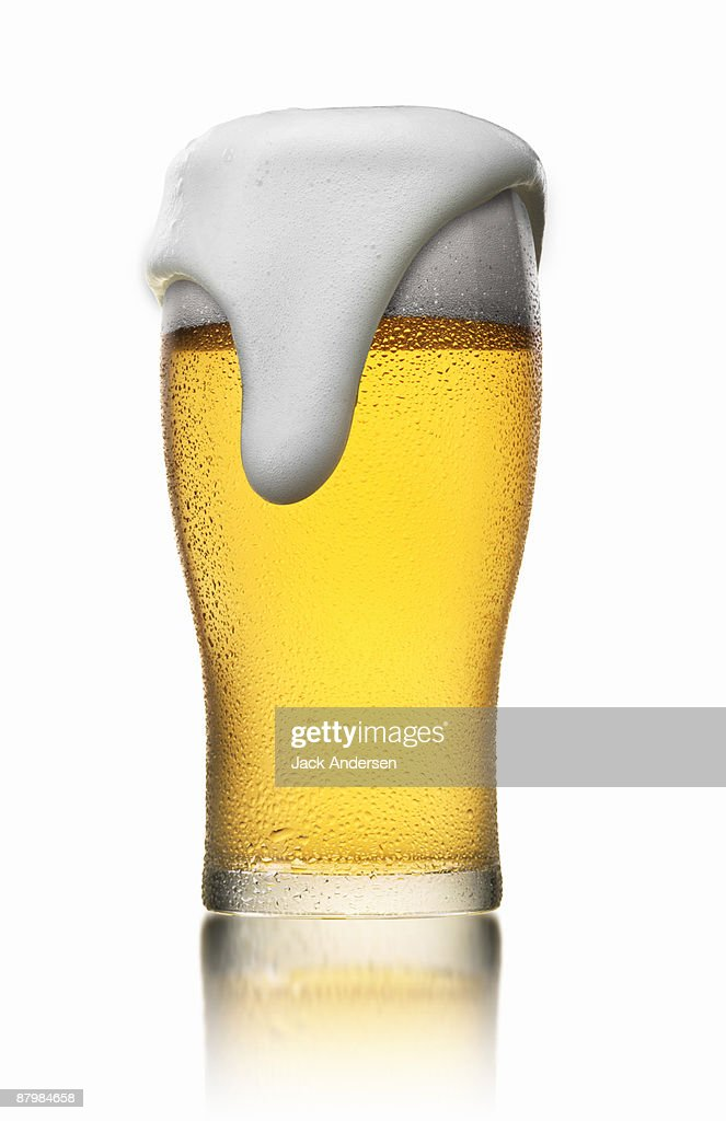 Glass of beer : Stock Photo