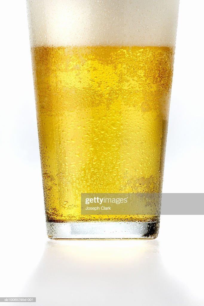 Glass of beer : Foto stock