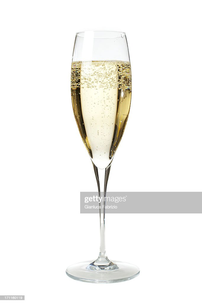 Glass of Champagne : Stock Photo