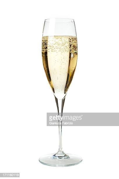 glass of champagne - glas serviesgoed stockfoto's en -beelden
