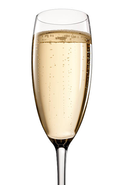 Glass Of Champagne Wall Art