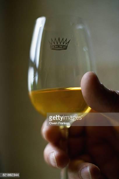 Glass of Chateau Yquem Sauternes