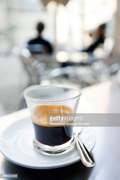 Glass of espresso