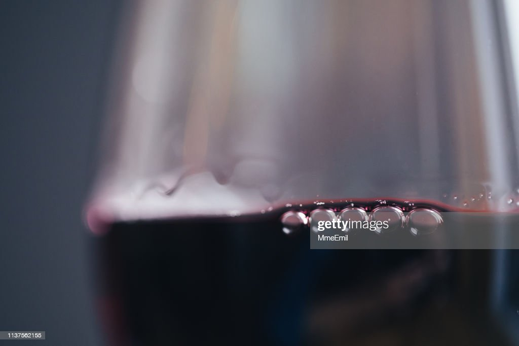 Glass Of Fine Red Wine : Stock Photo