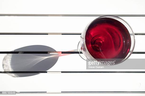 A Glass of Greek Red Wine