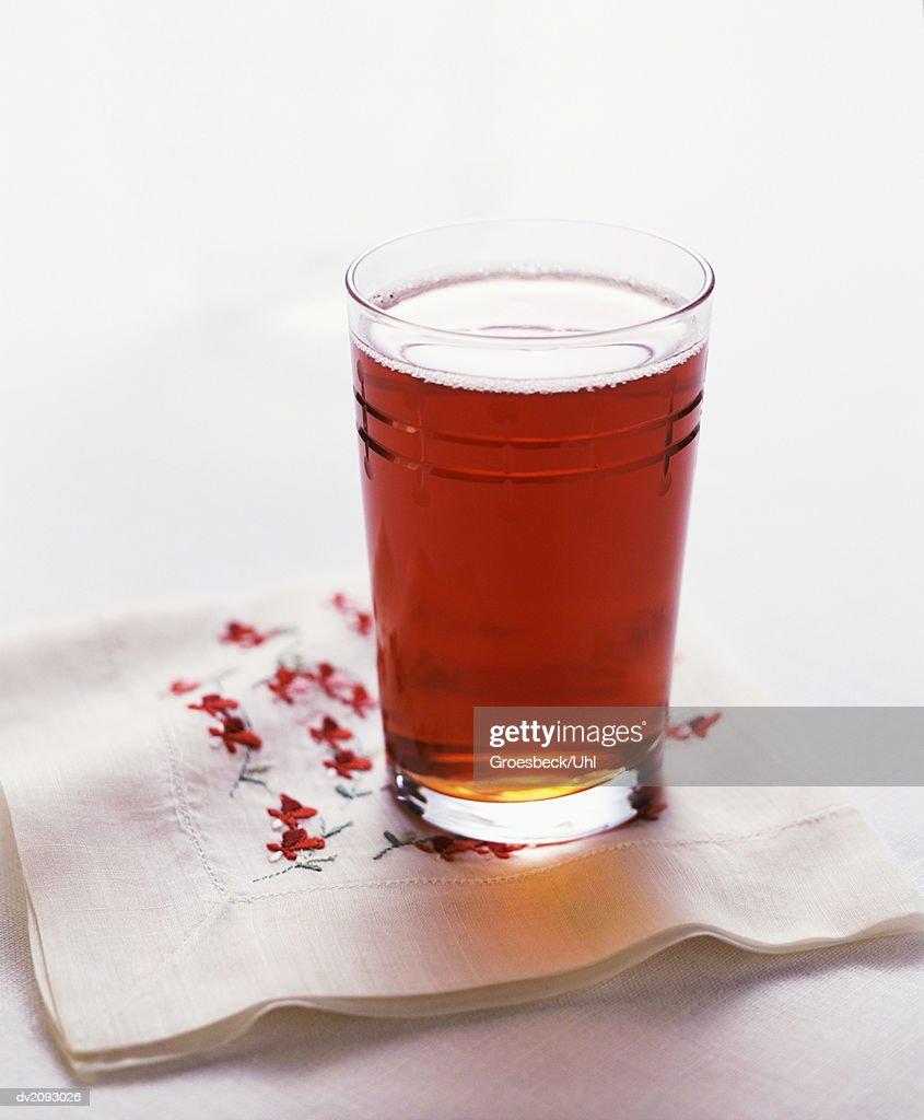 Glass of Ice Tea : Stock Photo