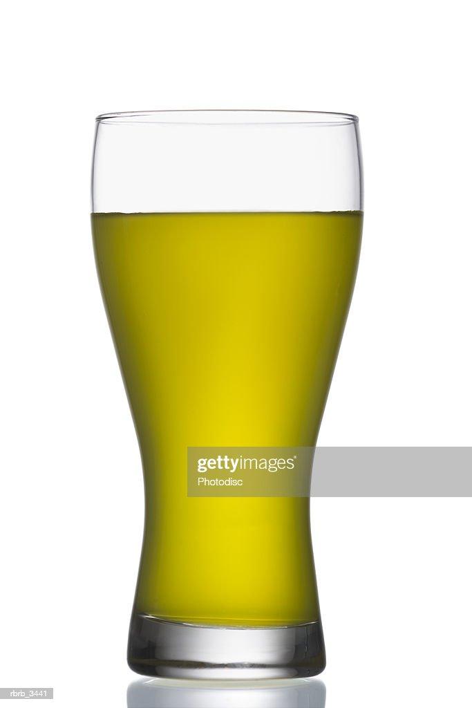 Glass of liquid : Foto de stock