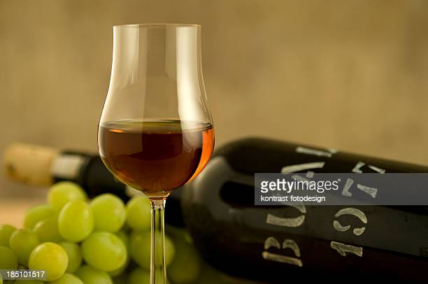 Glass of Madeira Wine from 1977
