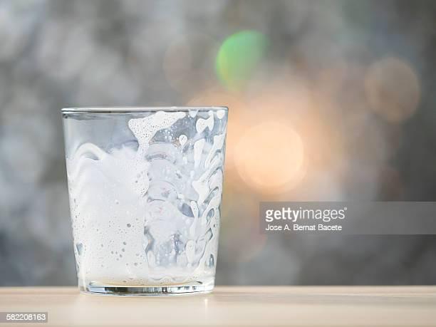 Glass of milk I empty