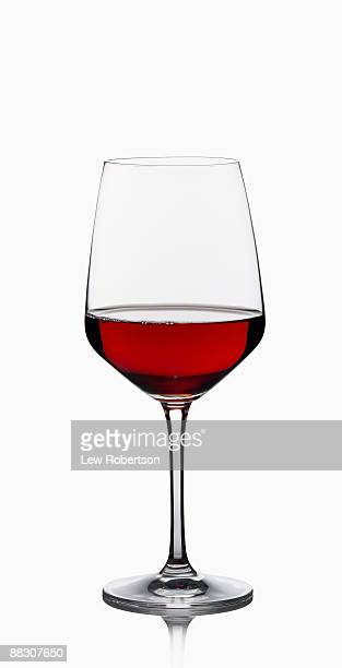 glass of red wine - drinking glass stock pictures, royalty-free photos & images