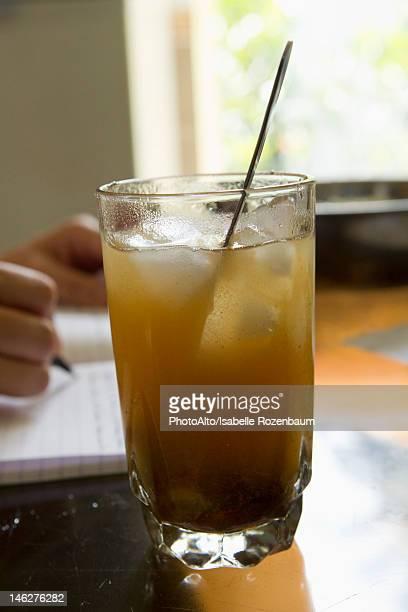 Glass of tamarind juice