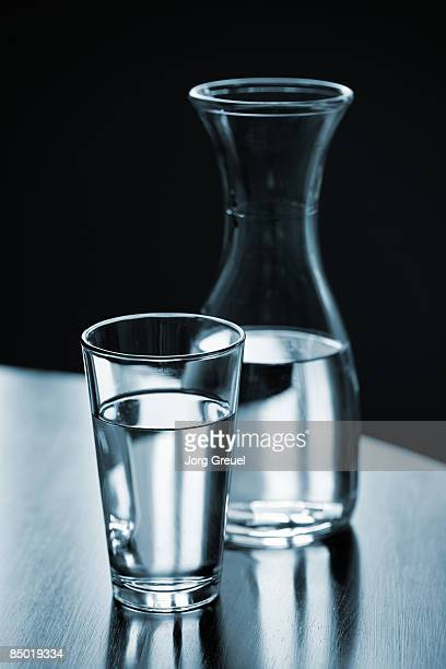 Glass of water, carafe