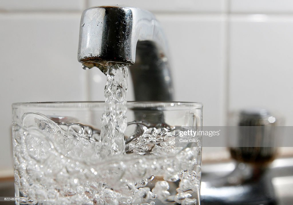 A glass of water is filled at a kitchen tap on August 11, 2008 in London, England. Thames Water bills are expected to have an annual rise of 3 percent more than inflation as water companies submit predicted finance plans for 2010 to 2015.