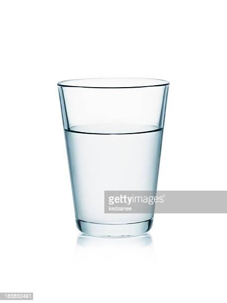 水を白で分離
