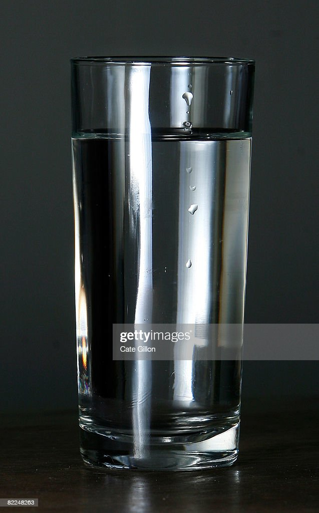 A glass of water on August 11, 2008 in London, England. Thames Water bills are expected to have an annual rise of 3 percent more than inflation as water companies submit predicted finance plans for 2010 to 2015.
