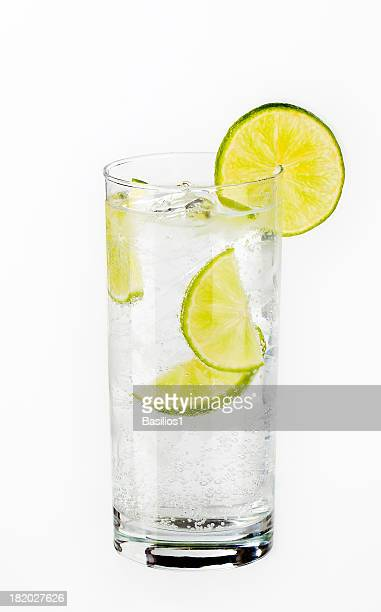 glass of water - carbonated water stock pictures, royalty-free photos & images
