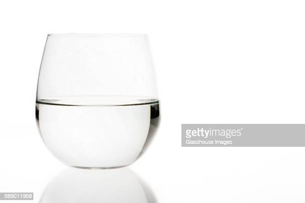 glass of water - drinking glass stock pictures, royalty-free photos & images