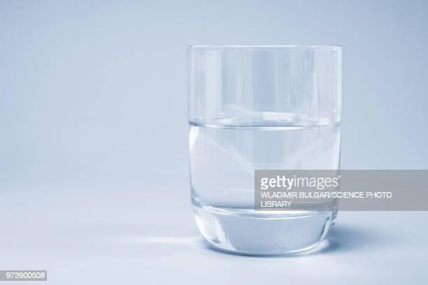 glass of water - glas stock-fotos und bilder